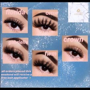 Luxury false lashes for sale!! 💖😍 WEEKEND SALE